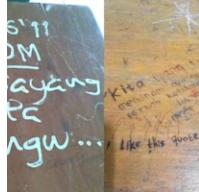 5 Jenis Coretan di Meja Kelas yang Selalu Ada di Masa Sekolah. Udah Kayak Buku Catatan